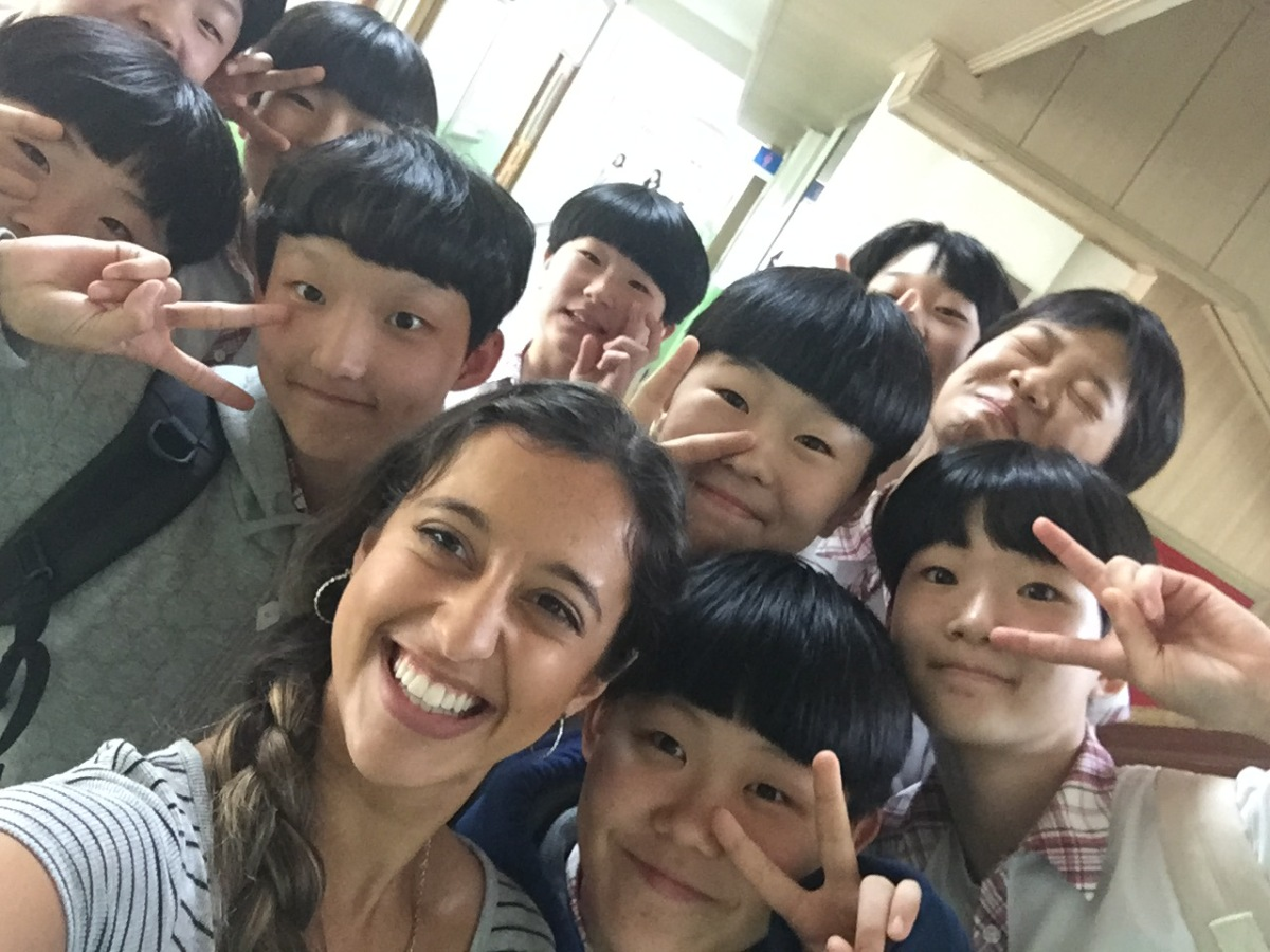 Teaching at a Korean Middle School